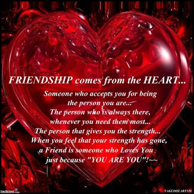 This Quote for those who believe in True FRIENDSHIP....
