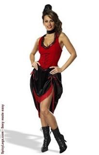 Saloon Dress