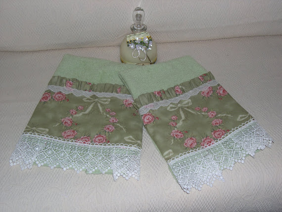Asciugamani stile vittoriano