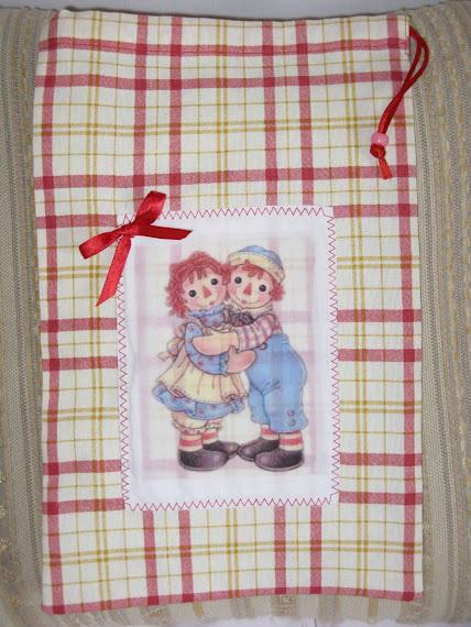 Sacchetto multiuso con immagine di Ann & Andy