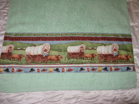Asciugamano country  per bimbo