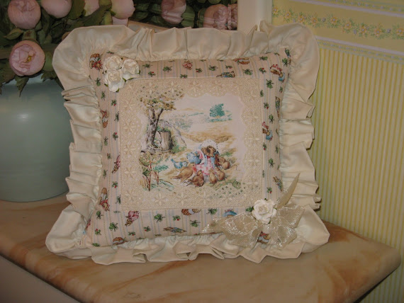 Cuscino inglese Beatrix Potter