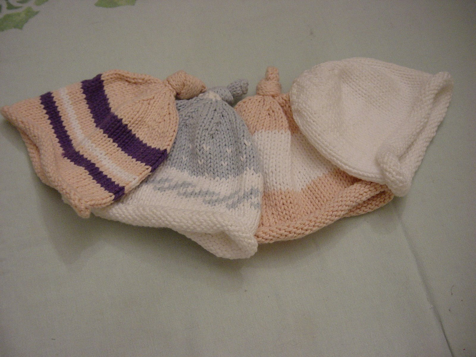 [Rowan+cotton+baby+hats+]