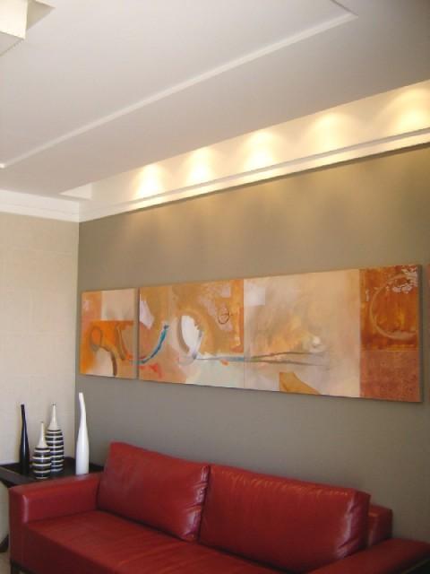 Pinturas de salas com sancas v rias id ias - Pinturas para salas ...