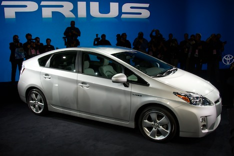 Toyota Prius car models to be