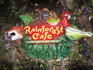 Rainforest Cafe San Antonio Comments