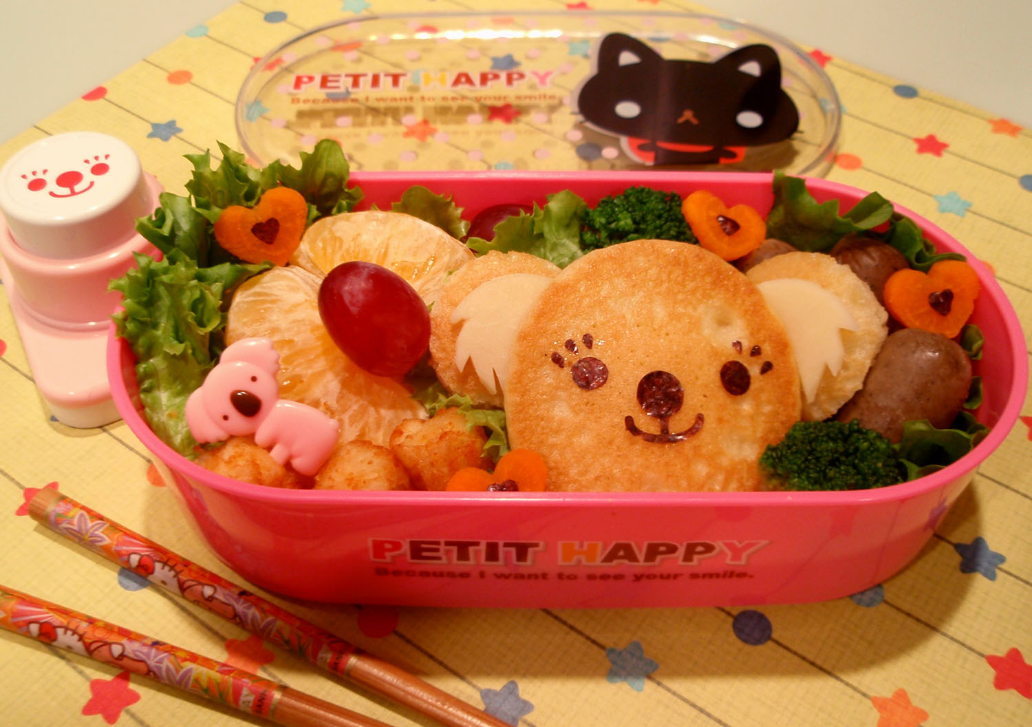 bento anarchy koala pancake. Black Bedroom Furniture Sets. Home Design Ideas
