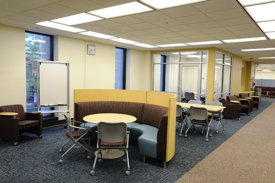 KSA Interiors: Project Spotlight! The Learning Commons at VCU
