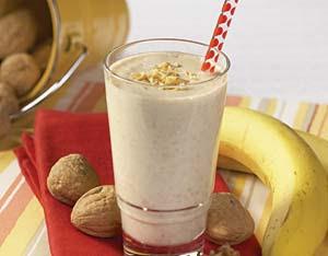 banana coconut shake