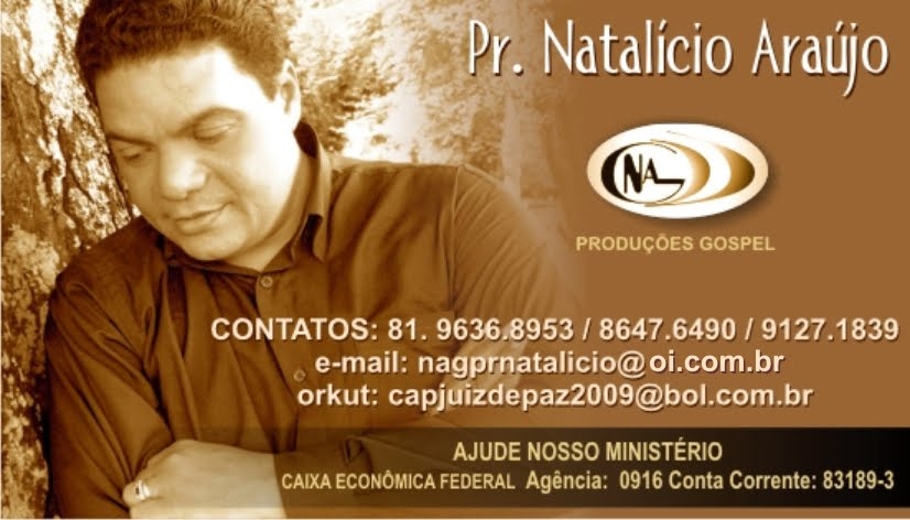 Blog do Pr.Natalicio