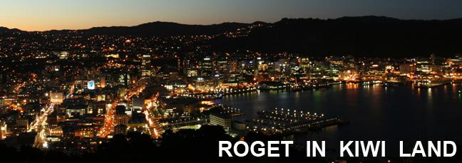 Roget In Kiwi Land