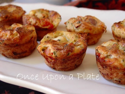 Once Upon a Plate: Mini Crustless Chicken & Nut Quiches