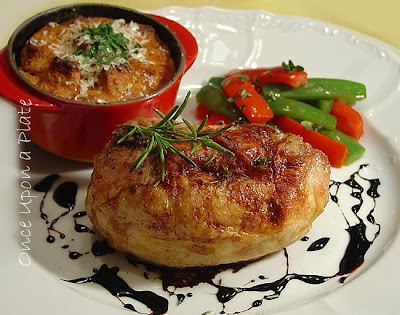 Once Upon a Plate: Ricotta Stuffed Chicken Breast with Rosemary ...