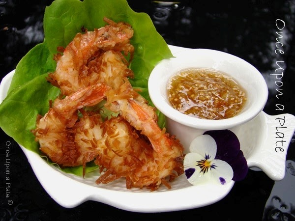 Once Upon a Plate: Crispy Coconut Shrimp with Marmalade-Mustard ...