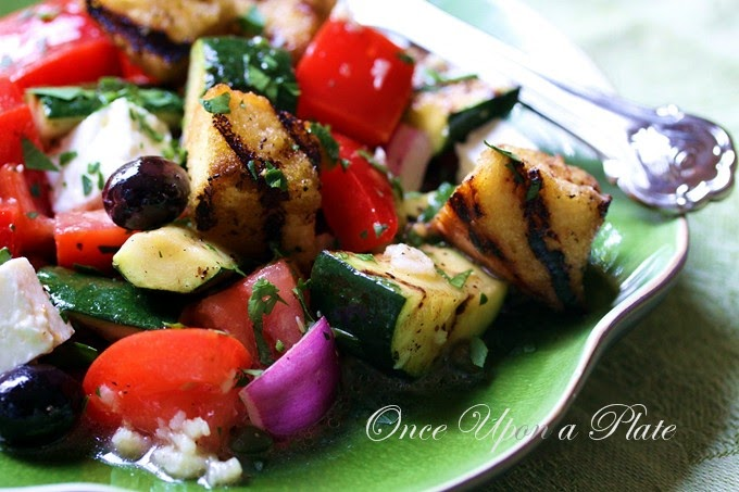 Once Upon A Plate Panzanella