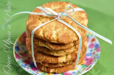 ... like Snickerdoodles; the crisp-tender, buttery cinnamon-sugar cookies