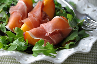 Once Upon a Plate: Nectarines Wrapped in Prosciutto with Balsamic ...