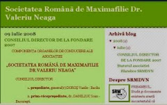 Societatea romana de maximofilie Dr.Valeriu Neaga