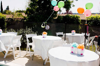 tables2 Parkers 1st Birthday Party { Pictures are Finally Here!!!}