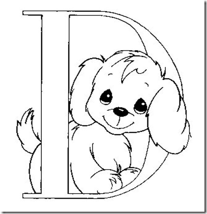 ... para colorear dibujos para pintar letras de preciosos momentos letras
