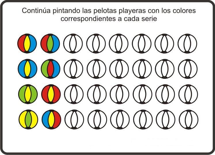 Para Colorear Dibujos Para Jardin Examenes De Apresto Kinder Maestras