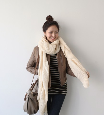 How to thick wear winter scarf 2019