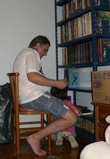 Aqui eu estava quase acabando de por em ordem a Coleção I Grandi Classici Del Fumetto, 65 álbuns que saíram no jornal italiano La Repubblica