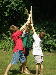 Wooden Toy Swords