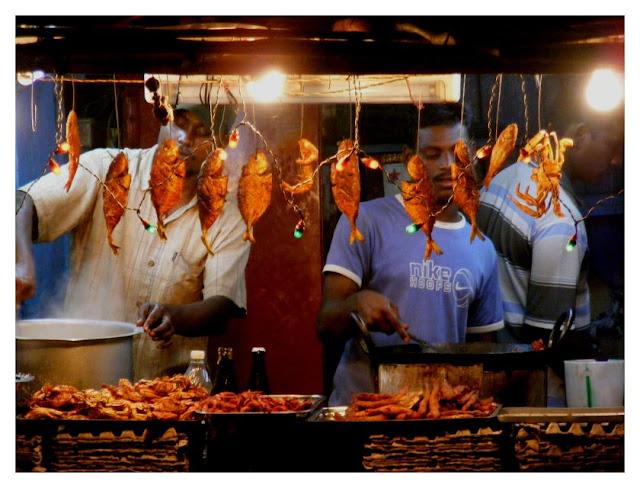 Fried fish. Gopalpur-on-Sea