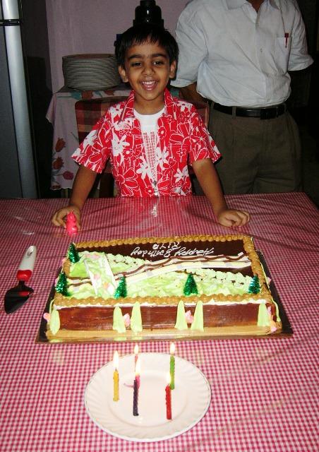 Sohom's fifth birthday