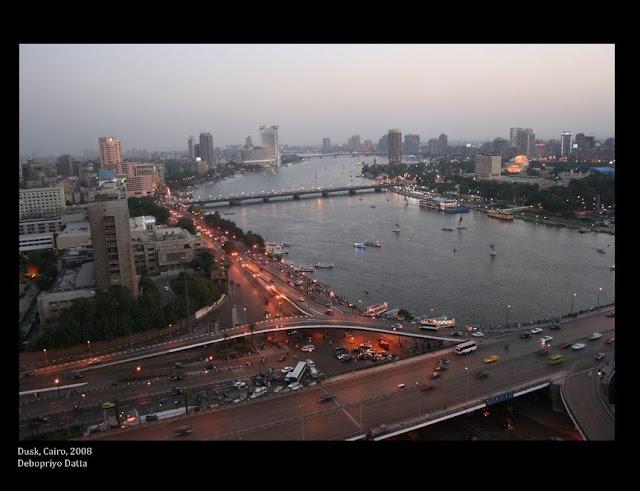Cairo at dusk