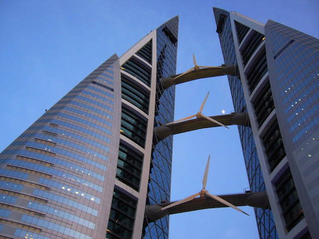 Bahrain's iconic World Trade Center