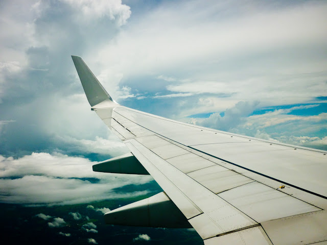 Blue sky @ 35,000 ft