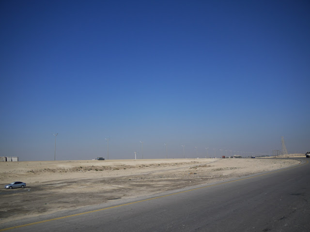 Under the Blue Sky - Postcards from Jubail