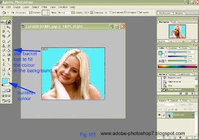 how to make passport size photo in photoshop cs5