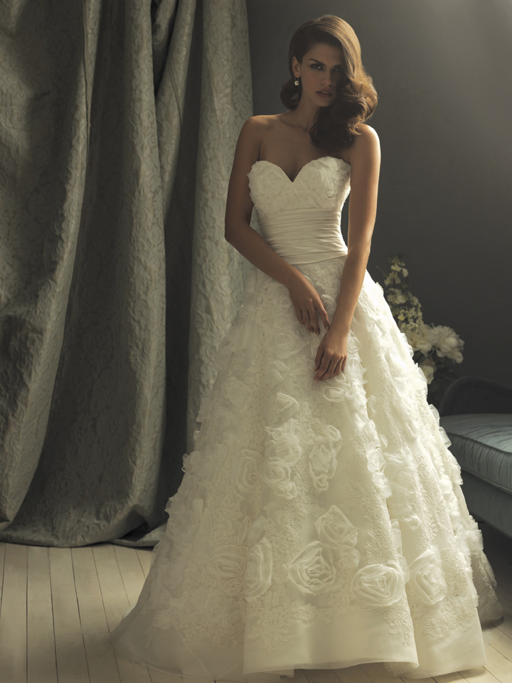 Hills In Hollywood Bridal Dress Of The Week Allure Couture C157
