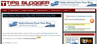 Tips Blogger - Blogging and Misc Jumbled Tips
