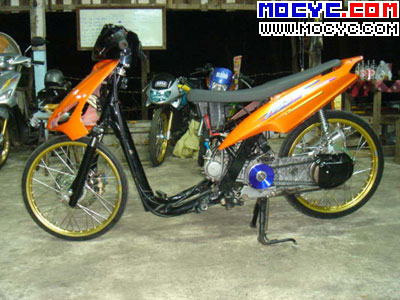Mio Modifikasi Drag