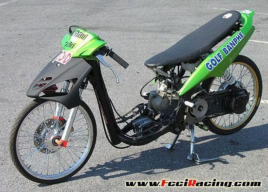 Image of Modifikasi Mio Drag