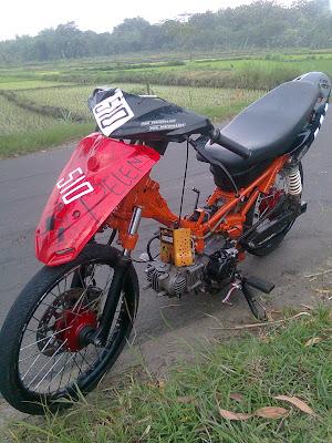 Modifikasi motor yamaha jupiter z 150cc
