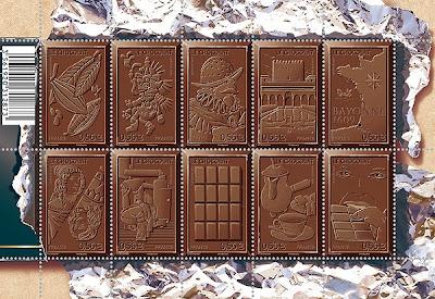 timbres chocolat
