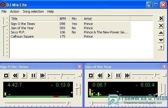 Tuto logiciels dj mix lite un logiciel gratuit de - Logiciel pour couper musique mp3 gratuit ...