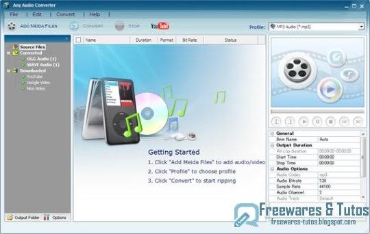 Tuto logiciels any video converter un logiciel de conversion vid o efficace - Logiciel couper une video ...
