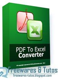 convertisseur de fichiers gratuit pdf xls