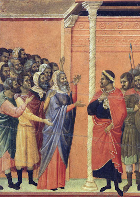 Jesus Accused by the Pharisees by Duccio