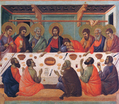 Last Supper by Duccio