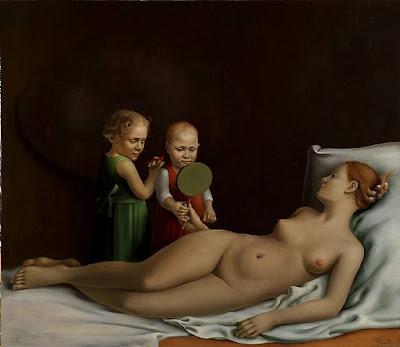 Oil Painting by Latvian Artist Paulis Postazs