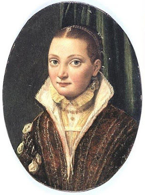 Portrait of Anguissola by Lucia Anguissola
