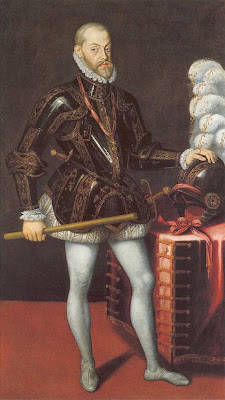 Philip II, King of Spain by Anguissola