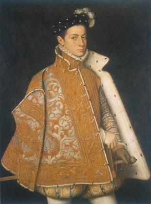 Sofonisba Anguissola. Portrait of Alessandro Farnese